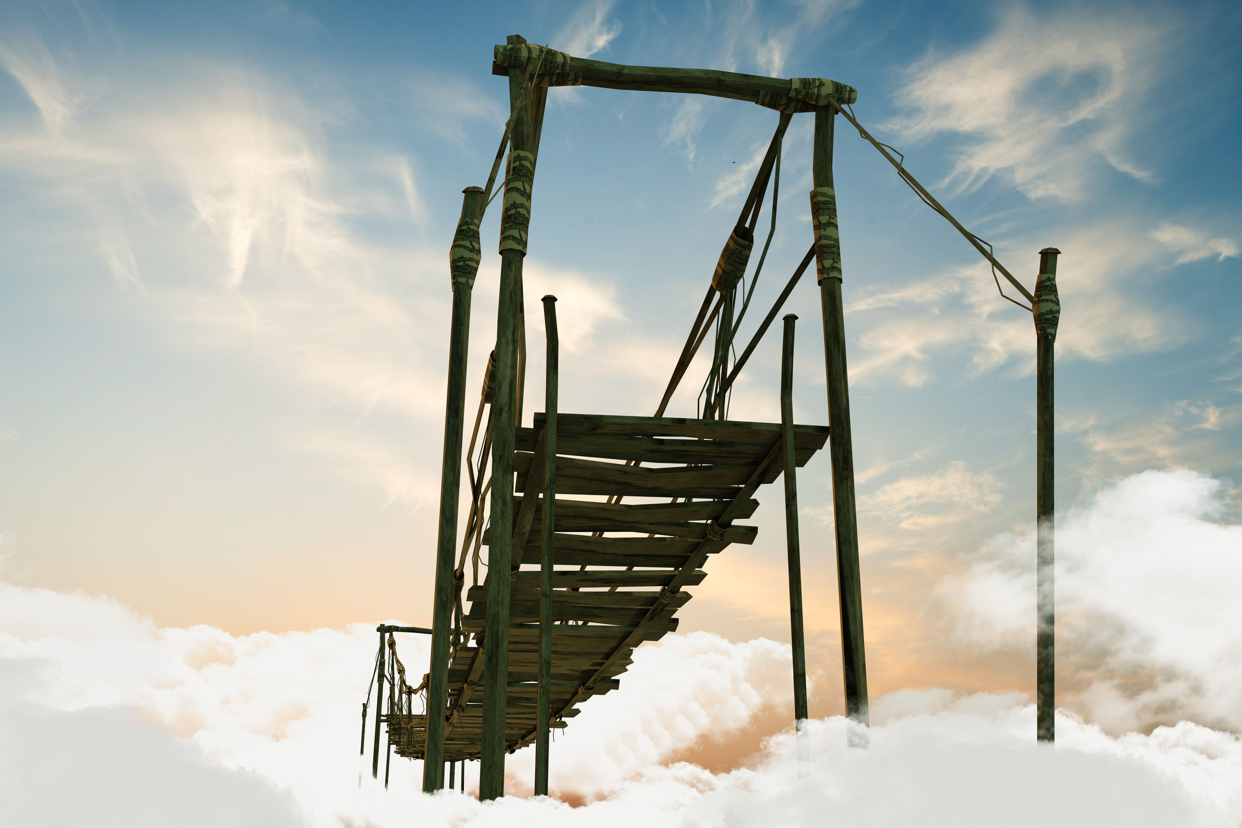 Bridge to the afterlife