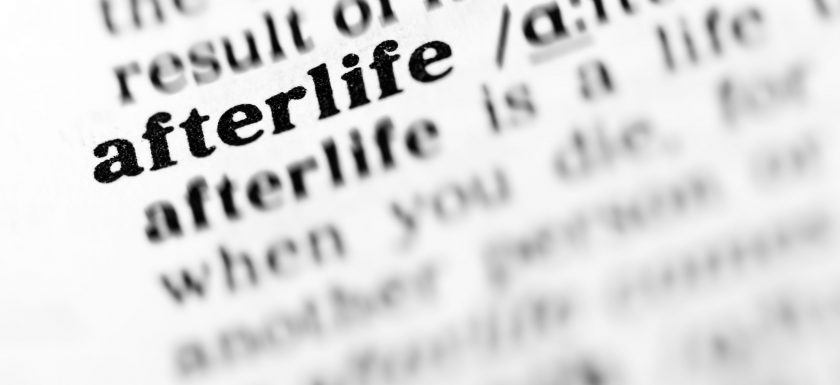 dictionary picture of afterlife
