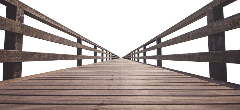 Picture of wood bridge
