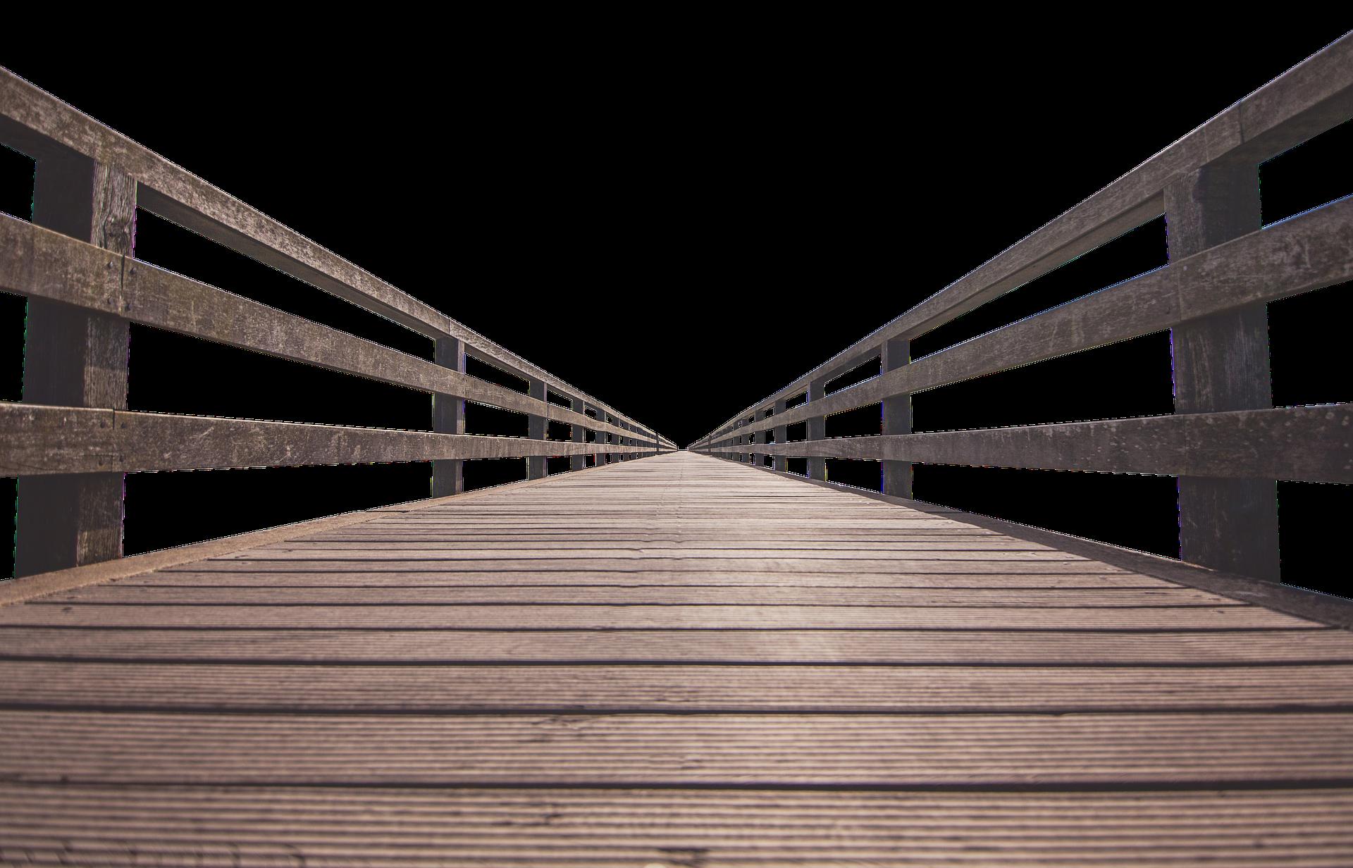 Picture of wood bridge